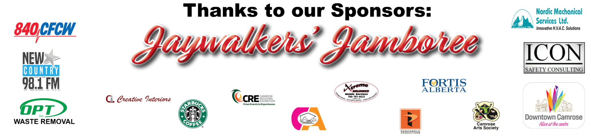 Jaywalker's sponsors